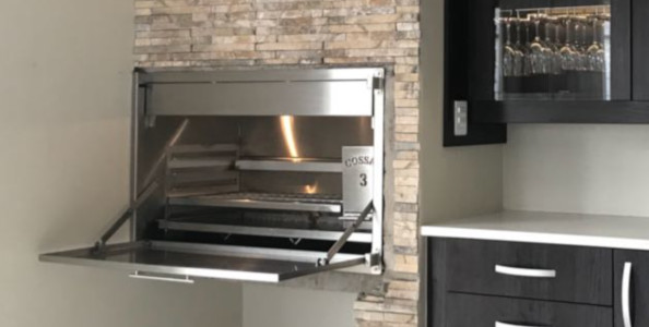 BUILT-IN BRAAI STAINLESS for home