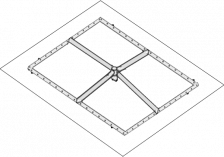 square burner